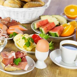 Frühstücksservice